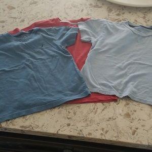 3 nautica boys tshirts